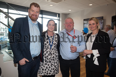 Martin Murtagh, Jessica Kane, Kieran Tumilty and Mary Meehan. R1826007