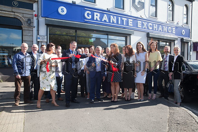 Guests in attendance at the opening of Granite Exchange. R1826010