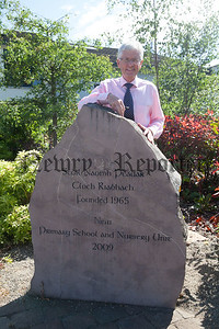 John Campbell pictured at St Peter's Cloughreagh. R1827009