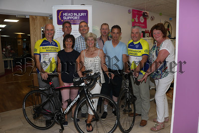 LAUNCH SLIEVE GULLION SOUTH DOWN COASTAL TOUR FOR HEAD INJURY SUPPORT