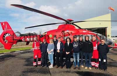 R1829132 - Air ambulance charity motorcycle
