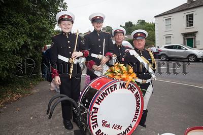 Andrew McCartney, Ellie Bingham, Richard Dodds and Gavin McCune. R1829005
