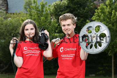 PressEye - Belfast - Northern Ireland - 19th July 2018    Picture: Philip Magowan / PressEye  19 July 2018   Cinemagic on the search for #CYF2018 - Cinemagic Young Filmmaker 2018!    Have you a talent for making short films? Do you have stories to tell that others need to hear? If you're aged 25 or under, living in the UK or Ireland, and passionate about creating short films then you could be the #CYF2018 - Cinemagic Young Filmmaker 2018!   The #CYF2018 - Cinemagic Young Filmmaker 2018 competition is now open for entries.  All types of film will be considered; fact, fiction, comedy, drama, news programme or documentary, as long as it is original and not longer than 10 minutes.   The deadline for competition entries is 31 August 2018. To find out more and download a competition entry form please check out http://www.cinemagic.org.uk/submissions/young-filmmaker-competition   Pictured (l-r) are young filmmakers Holly McLaughlin (12, from North Belfast) and Thomas Purdy (17, from North Belfast).   ENDS//