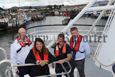 VISIT OF MINISTER OF IMMIGRATION CAROLINE NOKES TO KILKEEL