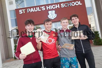 Conor McKeown, Jack Quinn, Matthew Dowdall and Michael Bradley. R1833002
