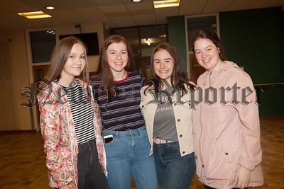 Aoife O'Neill, Claire McParland, Orla McKevitt and Kerry Preece. R1834005