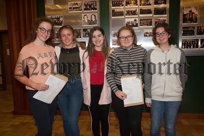 Rosie Cameron, Claire McParland, Orla McKevitt and Kerry Preece. R1834006