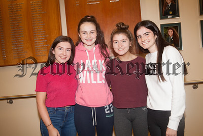 Caoimhellla Lundy, Kayla Woods, Fionnuala O'Hare and Naimh Scullion. R1834007
