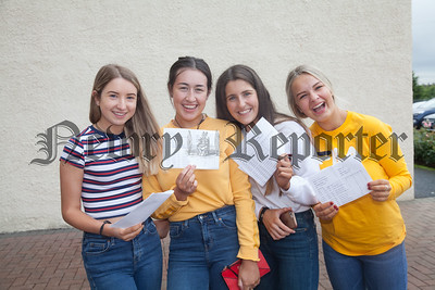 Hannah Quinn, Leah Finnegan, Aoife McConville and Kristy Magowan. R1834013