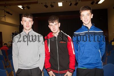 Eoin Murray, Eoin McLoughlin and Shay Kearney. R1834012
