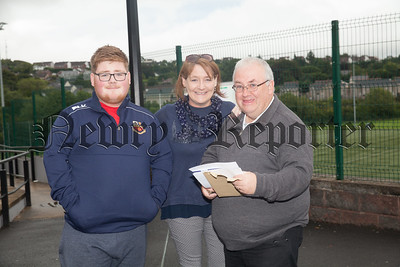 Ciaran Braniff pictured with his family members. R1834009