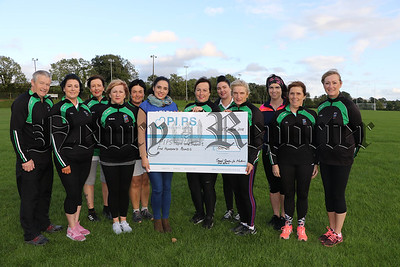 CHEQUE PRESENTATION TO PIPS FROM GAELIC4MOTHERS AND OTHERS