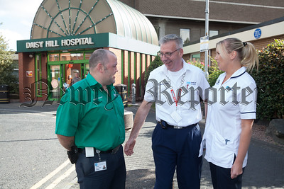 Porter Francie Morgan pictured with his colleagues. R1837009