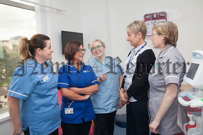 Lead Nurse Connie Connolly pictured with her colleagues. R1837005