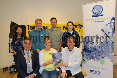 LAUNCH 3rd EDITION OF THEIR GRADE 2 BODHRÁN TUTOR BOOK AND CD IN NEWRY LIBRARY
