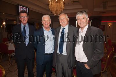 Roger Sherry, Tiernan Mallon, Brian Clarke and Conor Mallon. R1838032