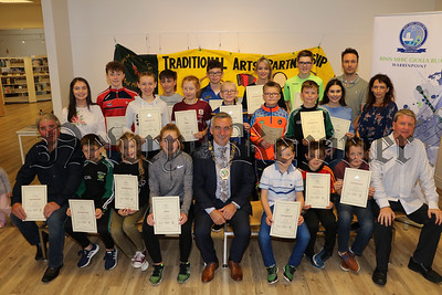 CERTIFICATE PRESENTATION TO 34 TAP STUDENTS