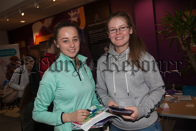 Rebecca O'Neill and Cliodhna Cronin who attended SRC's Freshers day. R1838022