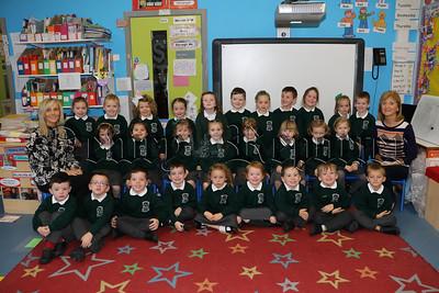 PRIMARY 1 PUPILS AT CARRICK PRIMARY SCHOOL BURREN