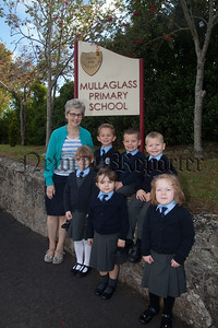 Pictured are the Primary 1 Clas at Mullaglass PS. R1839001