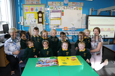 PRIMARY 1 PUPILS AT DROMORE ROAD PRIMARY SCHOOL WARRENPOINT