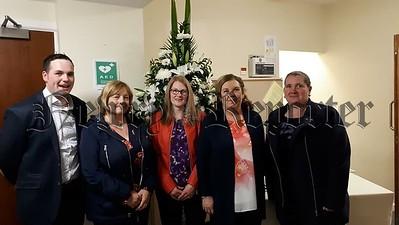 R1841325 Niall Murray and Ita Gibney pictured with Christina Watt, Sarah Knight, Jean Watt 1stNewtownhamilton Scouts.jpg