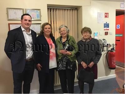 R1841326 Niall Murray, Ita Gibney, Mary E Warmington, Moya Stewart, Current and Founder Members of Newtownhamilton Community Centre.jpg