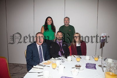 Staff from Haldane Fishers Newry pictured at the Action Mental Health Breakfast. R1841016