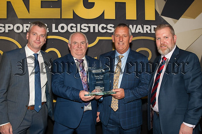 Trailer Fleet of the Year Vincent Waddell and Brian Maguire of SureFreight.