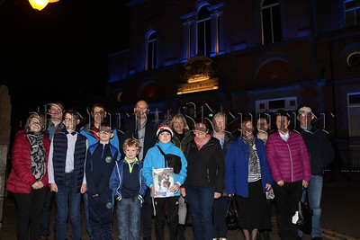 NEWRY TOWN HALL LIGHTS UP BLUE FOR WORLD DIABETES DAY