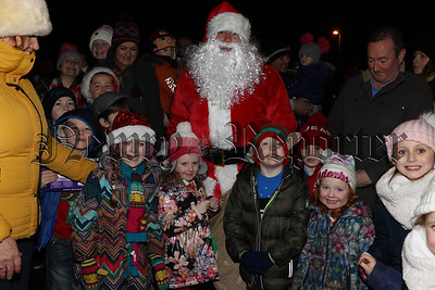 CHRISTMAS LIGHTS SWITCH ON IN CAMLOUGH