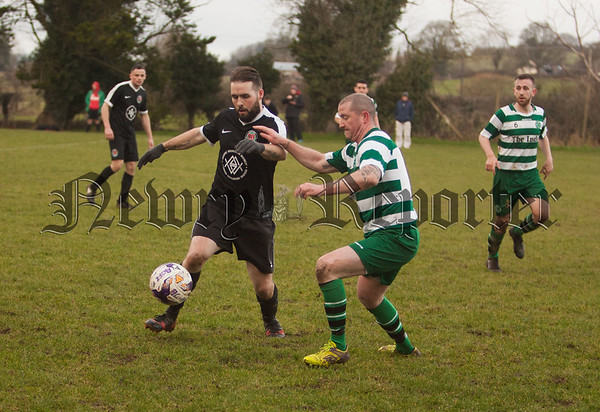 Paul Donegan (Cleary celtic) and Sean Gorman (Rossowen). RS1806009