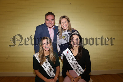 ROSE OF TRALEE VISITS MAYOBRIDGE TO CATCH UP WITH THE BAND