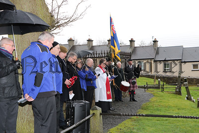SERVICE OF REMEMBRANCE, REDEDICATION AND WREATH LAYIN