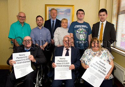 LOCAL CHARLITIES BENEFIT FROM NEWRY PANTOMIME