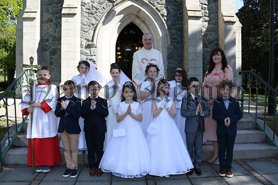 HOLY COMMUNION FOR PUPILS FROM KILLOWEN PS ROSTREVOR