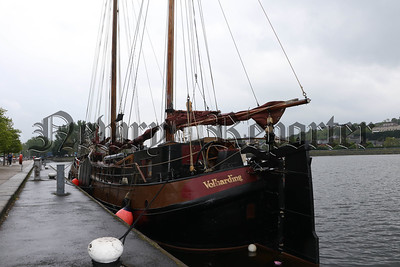 TALL SHIP ARRIVES IN ALBERT BASIN