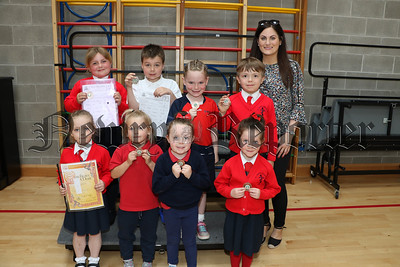 FEIS WINNERS AT ST JOSEPHS CONVENT PS NEWRY