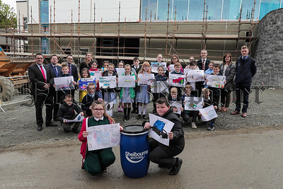 Local school children's 'car of the future' artwork buried in time capsule initiative