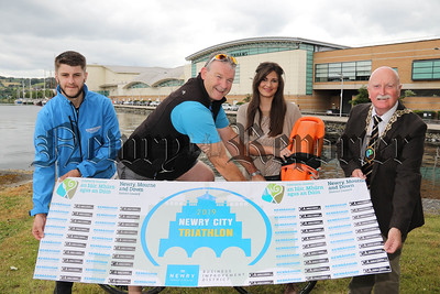 LAUNCH NEWRY CITY TRIATHLON 2019