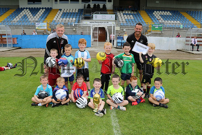 ANNUAL EVO SOCCER SCHOOL AT NEWRY CITY F.C.