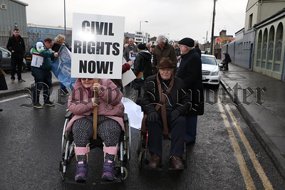 CIVIL RIGHTS MARCH ON SUNDAY 13TH JANUARY 2019