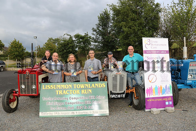 LISSUMMON TRACTOR RUN LAUNCH FOR CRUSE BEREAVEMENT CARE