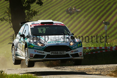 Matt Edwards / Patrick Walsh Ford Fiesta R5