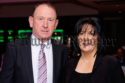 Pat and Geraldine McKay from Burren at the County Armagh UFU Dinner in Newry. Photograph: Columba O'Hare/ Newry.ie