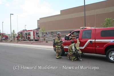 AC fire at MHS 7-8-2011