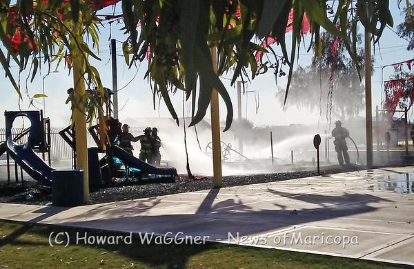 Ak-Chin playground fire 10-22-2016
