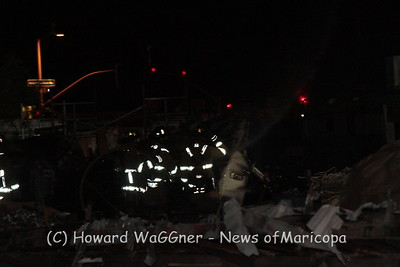 Edwards Junkyard fire 4-4-2014