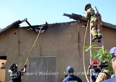 Fire at at 42039 W Hillman 7-14-2011