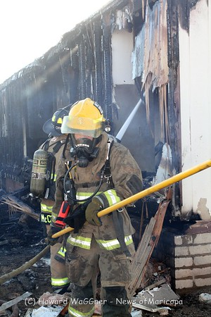 Mobile Home Fire 6-11-2015